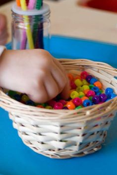 beads and pipe cleaners