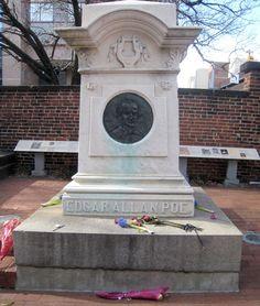 Grave of Edgar Allan Poe by Star Cat,