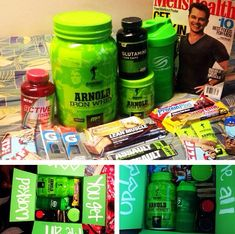 """""""You Get Me All Worked Up"""" - Workout Fitness Care package"""