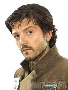 """Diego Luna (Y Tu Mamá También) plays Capt. Cassian Andor, a Rebel stalwart who anchors the loose cannon Jyn. """"He's an intelligence officer and he's got quite a bit of combat experience,"""" says Kennedy. He's the quiet type, but that's a soldier's trait of not wanting to talk about the things he's seen. """"He has a weariness that he carries,"""" says Hart. """"It comes from, 'We're in it, I'm committed for the long fight, and it's not something that I came to yesterday.'"""""""