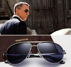 James Bond 007 (Daniel Craig) wears the Tom Ford Marko sunglasses in Skyfall. #JamesBondIsAll