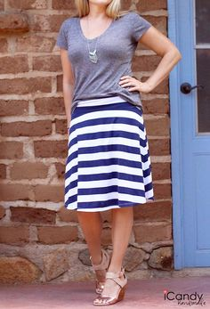 Everyday Skirt DIY Clothes for Teens | No Sew Cute Handmade Skirts From Upcycle Materials by DIY Ready at http://diyready.com/diy-clothes-for-teens/