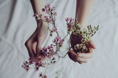 I love pictures like these | tumblr, flowers and hands