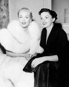 With Lana Turner