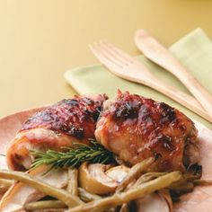 Apple-Brined Chicken Thighs Recipe Recipe - Key Ingredient