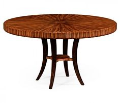 small rushmore Deco round dining table (High lustre)