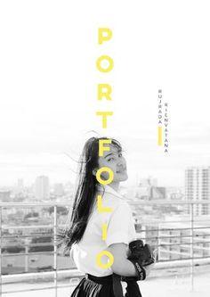 RUJRADA's PORTFOLIO  My portfolio for Advertising internship.