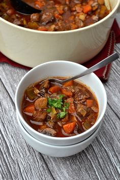 Beef & Vegetable Stew | Every Last Bite