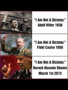 """I am not a Dictator"""