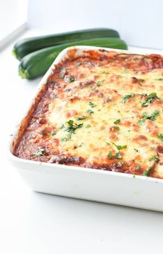 Veggie Zucchini Lasagna, Lasagna With Ricotta Cheese, Zucchini Keto Recipe, Easy Lasagna Recipe With Ricotta, Zuchinni Recipes, Lasagna Casserole, Zucchini Casserole, Casserole Recipes, Skillet Recipes