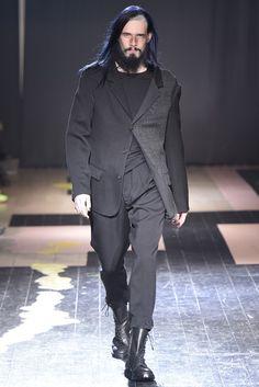 Yohji Yamamoto Men's RTW Fall 2015