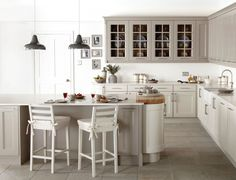 mixing grey and cream bodbyn units - Google Search