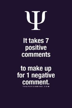 Psychology Facts : Photo Psychology Says, Psychology Quotes, Positive Comments, Fact Quotes, Words Quotes, Me Quotes, Weird Facts, Fun Facts, Being Positive
