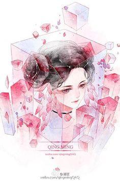 Crystal goddess by Qing Ming 水晶女神by清茗