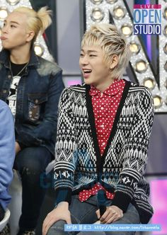 Block B #Zico. the first thing I noticed about this picture was P.O's face in back ground XD i love him