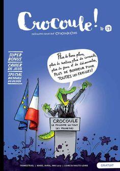 Préparez votre venue à la #BiennaleDesign17 en famille et en s'amusant ? C'est possible avec ce cahier de jeux du magazine Crocoule ! http://fr.calameo.com/read/0018385711299a6a95e8f