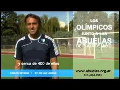 ▶ Las abuelas y los olímpicos - Carlos Retegui, entrenador de Las Leonas - YouTube