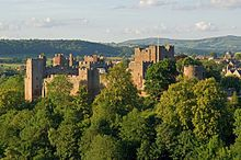 Ludlow Castle, birthplace of Edmund Mortimer