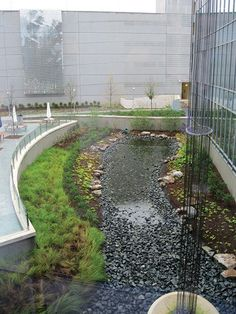 Image result for roof runoff management artful
