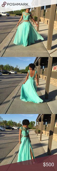 Jovani Prom Dress Worn once! Dry Cleaned ! Jovani Dresses Prom