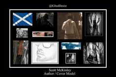 A.B. McKinley! !check out his fb page Scott Mckinley author/ cover model