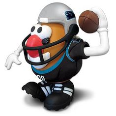NFL Carolina Panthers Mr. Potato Head