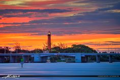 Lighthouse in Jupiter Florida During Beauitful Sunrise by Kim Seng on 500px