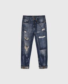 Imagen 6 de PANTALÓN DENIM CARROT de Zara Zara, Jeans, Fashion, Pants, Moda, La Mode, Fasion, Fashion Models, Jeans Pants