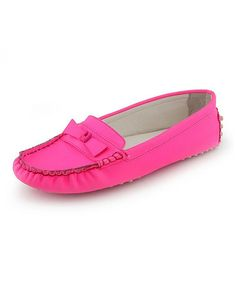 This Hot Pink Sammie Loafer - Women is perfect! #zulilyfinds