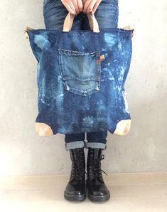 anlukaa glas+faden: die wohl tollste Jeans-Tasche ever!!!!