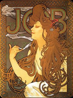 Alphonse Mucha- Job (1896)