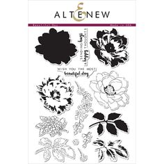 Altenew BEAUTIFUL DAY Clear Stamp Set
