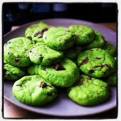 St. Pat's Mint Green Choc Chip