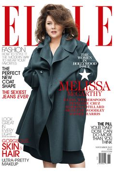 About That Melissa McCarthy Cover…     Love Melissa, she is beautiful, funny, and one of my favorite actresses.