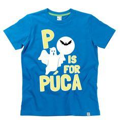 'P is for Púca' Kids Alphabet T-Shirt by Hairy Baby Alphabet For Kids, Irish, Tees, Mens Tops, Baby, T Shirt, Fashion, Supreme T Shirt, Moda