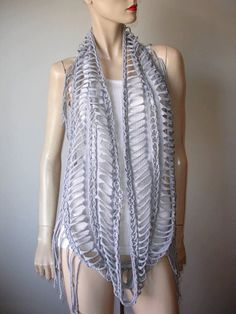 womens or mens shredded braided fringed by JohnnyVegasOriginals