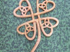 Four leaf clover, Celtic Symbol of abundance.