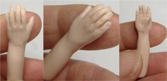miniatur, polym clay, polymer clay, sculpt hand