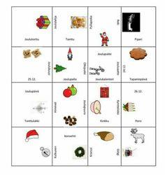 Jouludomino Christmas Games, Christmas Crafts, Treats, Education, School, Art, Sweet Like Candy, Craft Art, Goodies