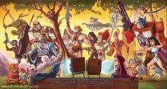 Land Of Nostalgia - art by Patrick Ballesteros