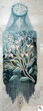 Maravilloso #tapiz en relieve. Técnica y #diseño deYuriy Nikolayevich Hovsepian.