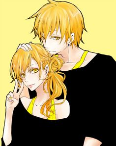Kise and Kisa! :D These two are adorable. -w-