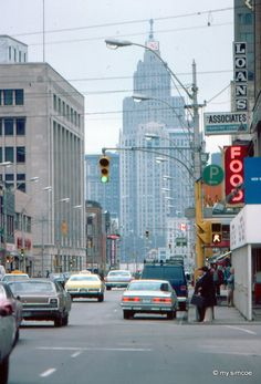 Downtown Windsor 1977