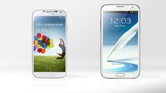 Gizmag compares the specs and features of the Samsung Galaxy S4 and Galaxy Note 2.