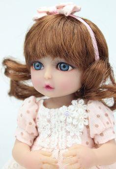 "10"" Handmade Reborn Newborn Mini Baby Dolls Full Soft Silicone Vinyl Stand Girl | eBay                                                                                                                                                     More"