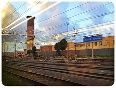 Rome, train station