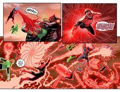 Red Lantern Corps, Comic Character, Origins, Dc Comics, Monsters, Spiderman, Comic Books, Marvel, Characters