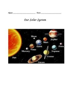 teaching 4th grade solar system -#main