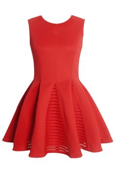 Essential Sleeveless Ruffles Princess Dress