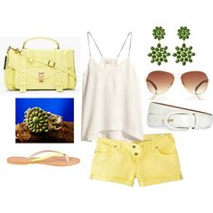 """""""Yellow and Green"""" by erin-elise-beck on Polyvore"""
